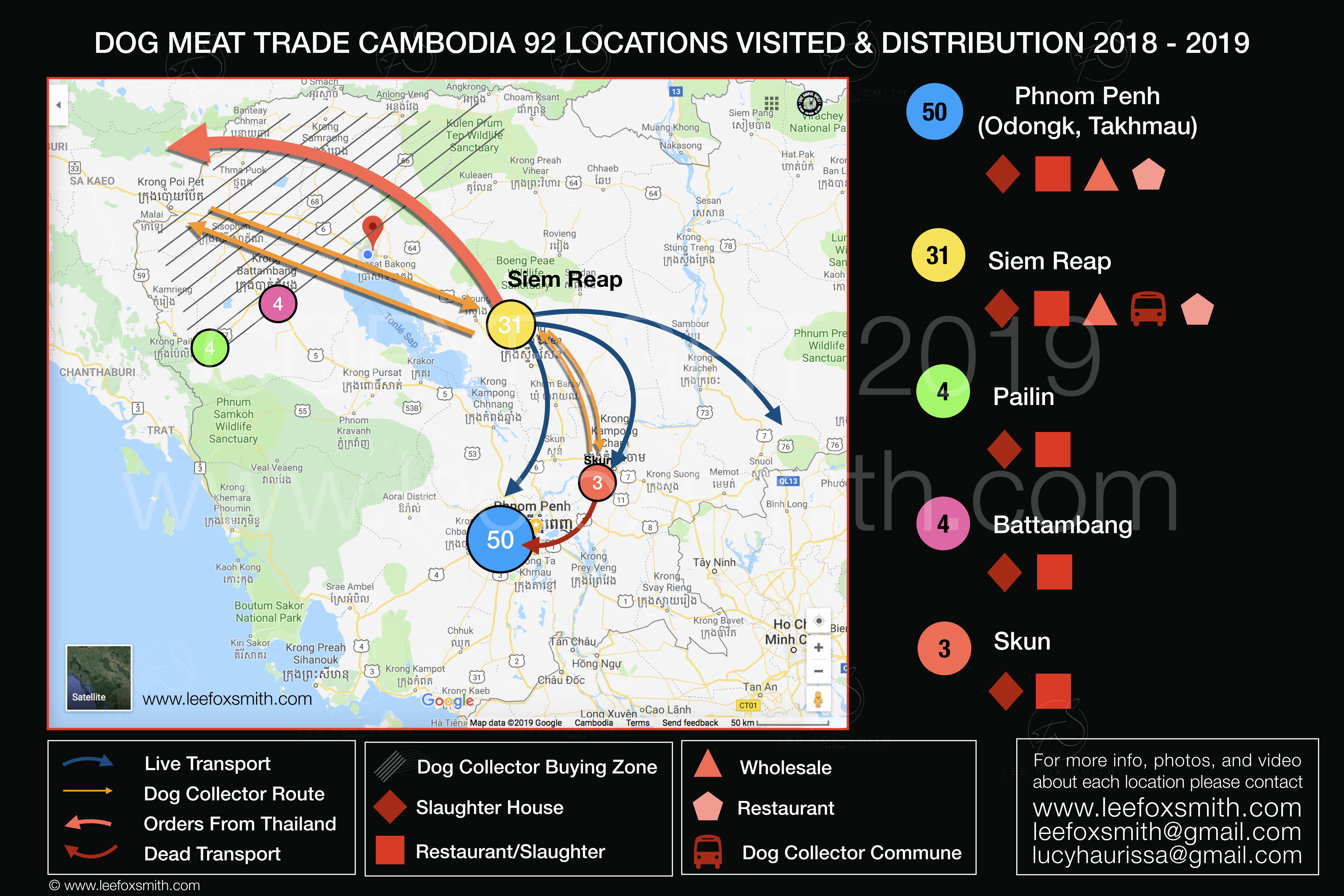 Dog Meat Trade Cambodia Map Distribution and 92 Locations ... Map Cambodia on el salvador map, syria map, indochina map, chad map, city map, burma map, phillipines map, china map, cameroon map, congo map, west indies map, bangladesh map, africa map, korea map, qatar map, burundi map, martinique map, europe map, japan map, benin map, da nang map, bulgaria map, bhutan map, pacific islands map, east timor map, eritrea map,